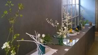 IKEBANA-Ausstellung ES Arrangements